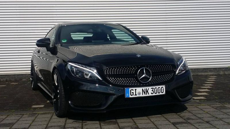 Mercedes Benz C-Coupe W205 Inden Design Tuning 20 Zoll (14)