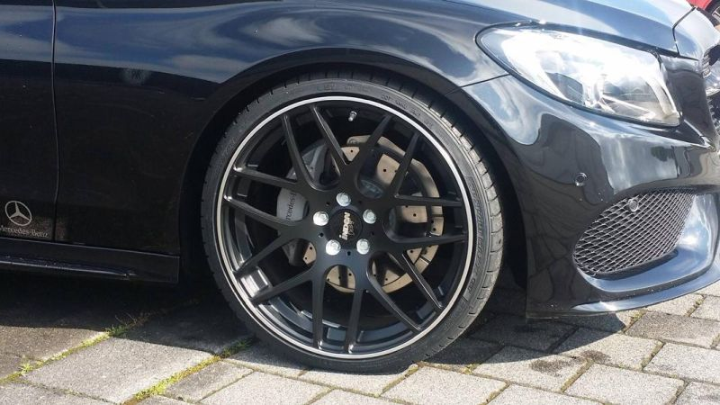 Mercedes Benz C-Coupe W205 Inden Design Tuning 20 Zoll (15)
