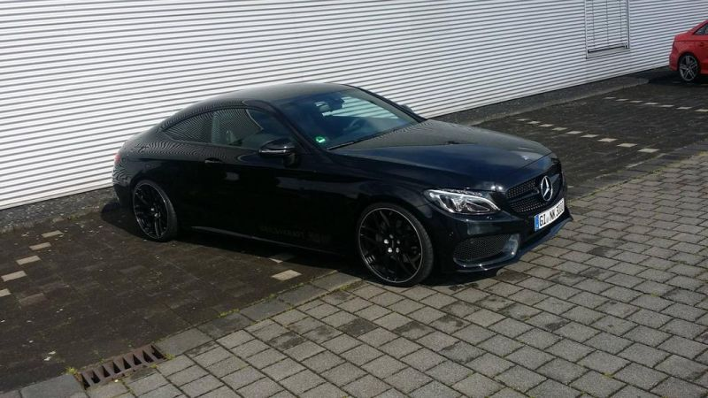 mercedes benz c coupe w205 inden design tuning 20 zoll 17. Black Bedroom Furniture Sets. Home Design Ideas