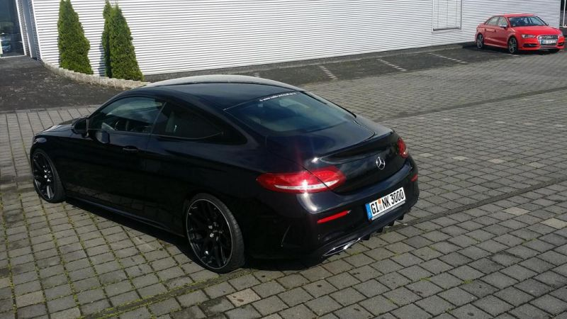 Mercedes Benz C-Coupe W205 Inden Design Tuning 20 Zoll (19)