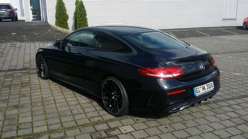 mercedes benz c coupe w205 inden design tuning 20 zoll 20. Black Bedroom Furniture Sets. Home Design Ideas
