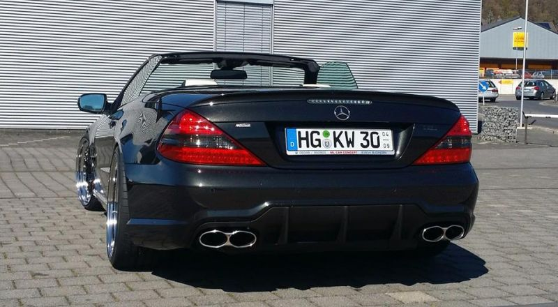 Mercedes Benz SL65 AMG Facelift Optik Inden Design Tuning 1