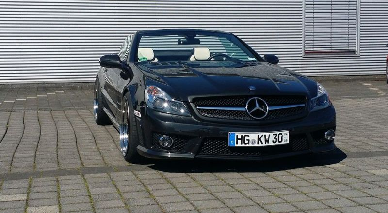 Mercedes Benz SL65 AMG Facelift Optik Inden Design Tuning 2