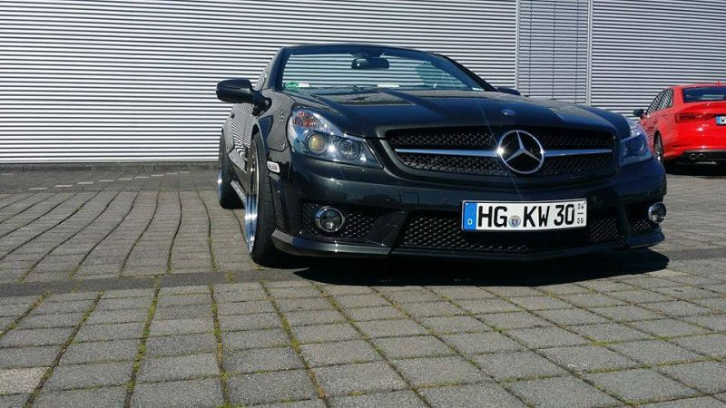Mercedes Benz SL65 AMG Facelift Optik Inden Design Tuning 4