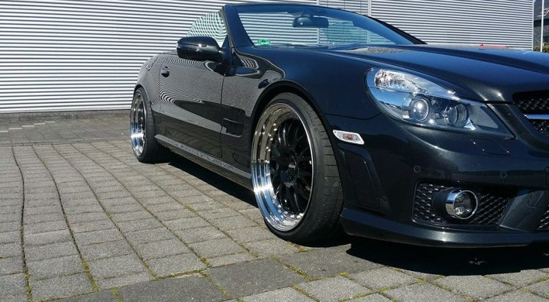 Mercedes Benz SL65 AMG Facelift Optik Inden Design Tuning 8