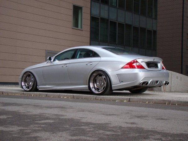 Mercedes-Benz W219 CLS MEC Design Bodykit Tuning 4
