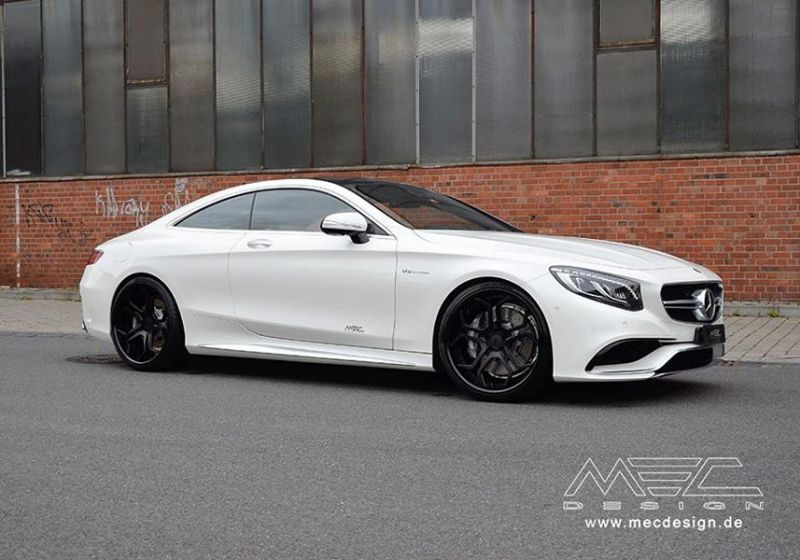 Mercedes S Coupe S63 AMG C217 22 Zoll MEC Alu's Tuning 1 Mercedes S Coupe S63 AMG C217 auf 22 Zoll MEC Alu's