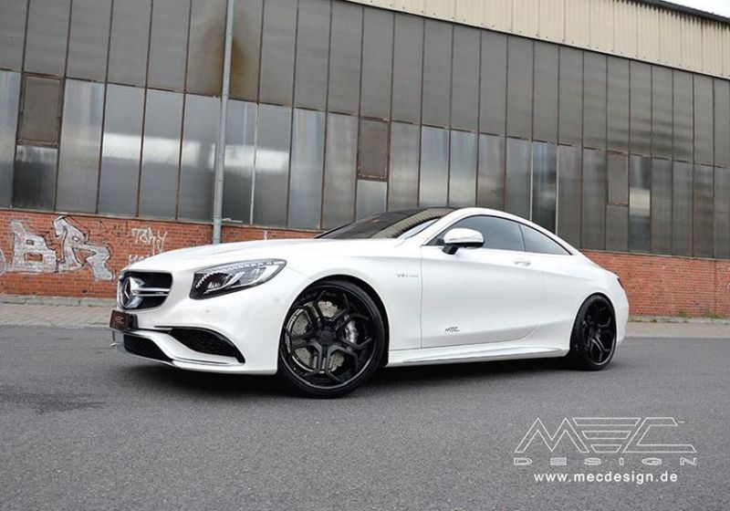 Mercedes S-Coupe S63 AMG C217 22 Zoll MEC Alu's Tuning 10
