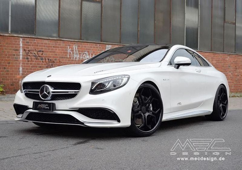 Mercedes S-Coupe S63 AMG C217 22 Zoll MEC Alu's Tuning 2