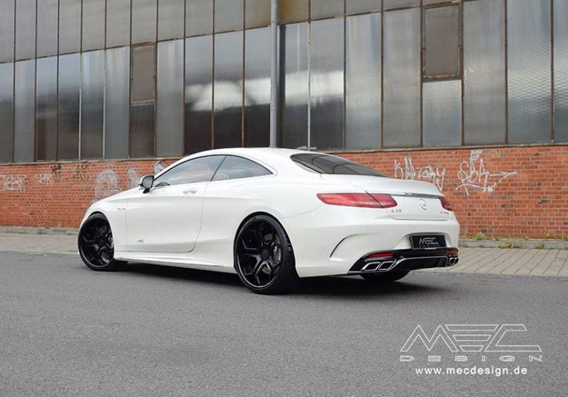 Mercedes S Coupe S63 AMG C217 22 Zoll MEC Alu's Tuning 3 Mercedes S Coupe S63 AMG C217 auf 22 Zoll MEC Alu's