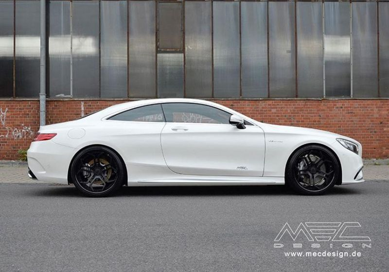 Mercedes S Coupe S63 AMG C217 22 Zoll MEC Alu's Tuning 4 Mercedes S Coupe S63 AMG C217 auf 22 Zoll MEC Alu's