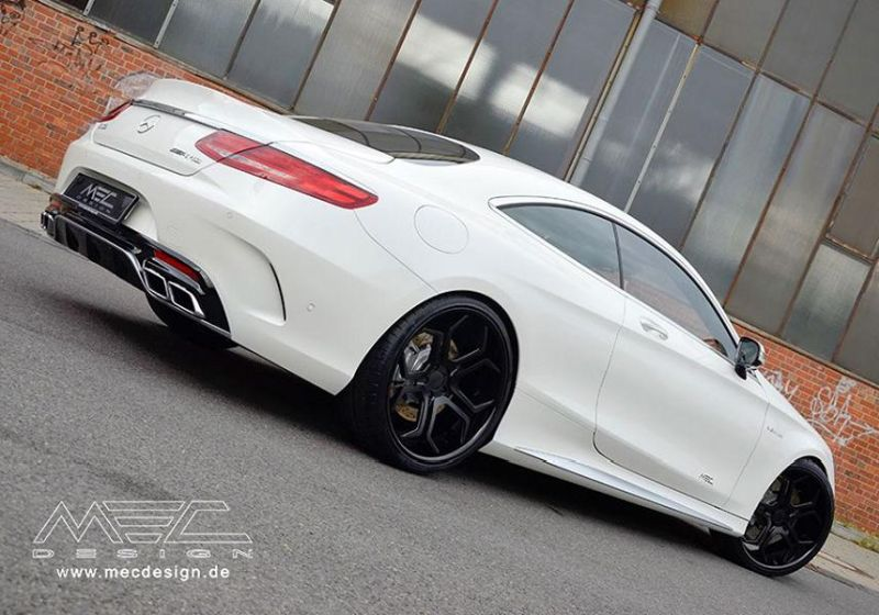 Mercedes S-Coupe S63 AMG C217 22 Zoll MEC Alu's Tuning 5