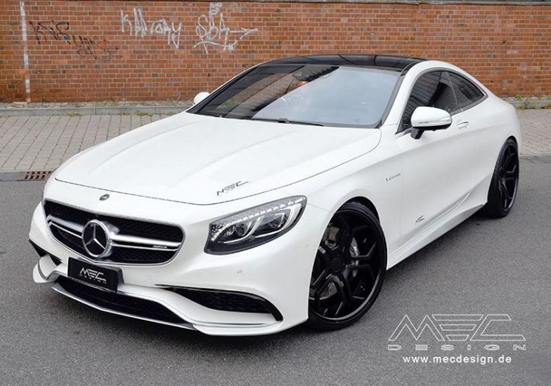 Mercedes S-Coupe S63 AMG C217 22 Zoll MEC Alu's Tuning 6