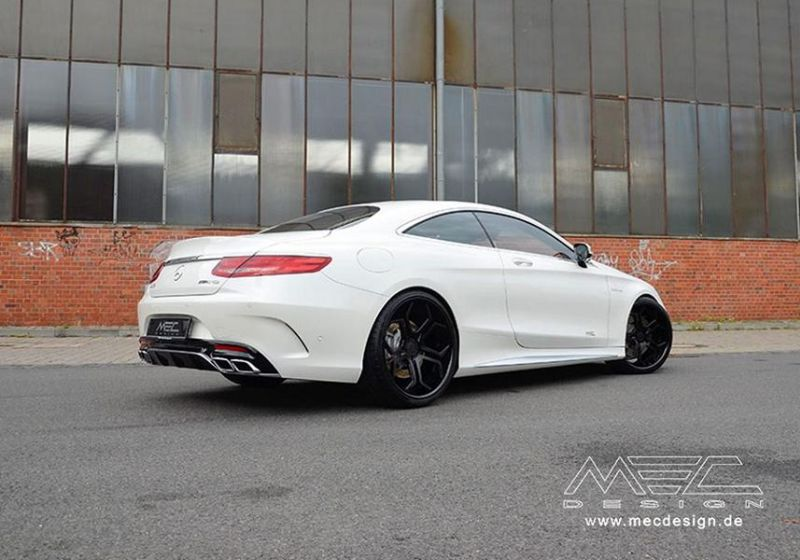 Mercedes S-Coupe S63 AMG C217 22 Zoll MEC Alu's Tuning 7