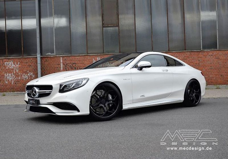 Mercedes S-Coupe S63 AMG C217 22 Zoll MEC Alu's Tuning 8