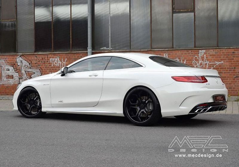 Mercedes S-Coupe S63 AMG C217 22 Zoll MEC Alu's Tuning 9