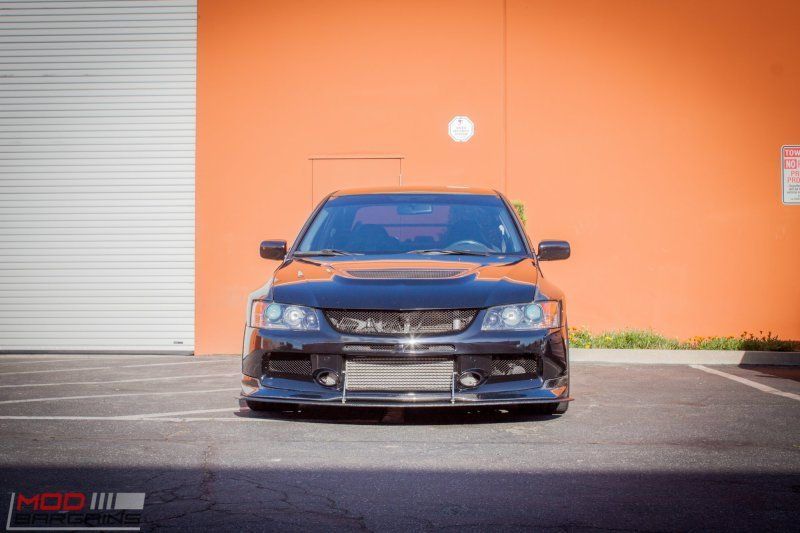 Mitsubishi Evo 9 IX Widebody Forgestar Alu%E2%80%99s by ModBargains 3 Mitsubishi Evo 9 (IX) Widebody auf Forgestar Alu's by ModBargains