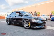 Mitsubishi Evo 9 IX Widebody Forgestar Alu%E2%80%99s by ModBargains 6 190x127 Mitsubishi Evo 9 (IX) Widebody auf Forgestar Alu's by ModBargains