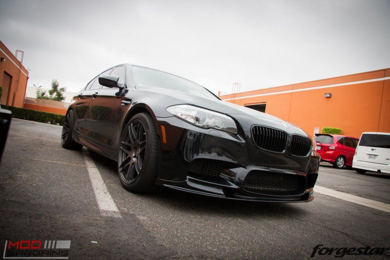 ModBargains BMW M5 F10 20 Zoll Forgestar F14 RPI Auspuff Tuning 12