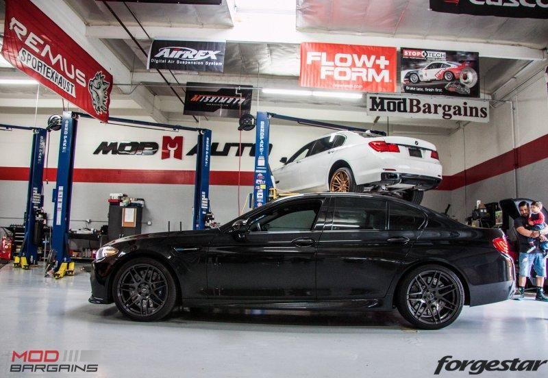 ModBargains BMW M5 F10 20 Zoll Forgestar F14 RPI Auspuff Tuning 4