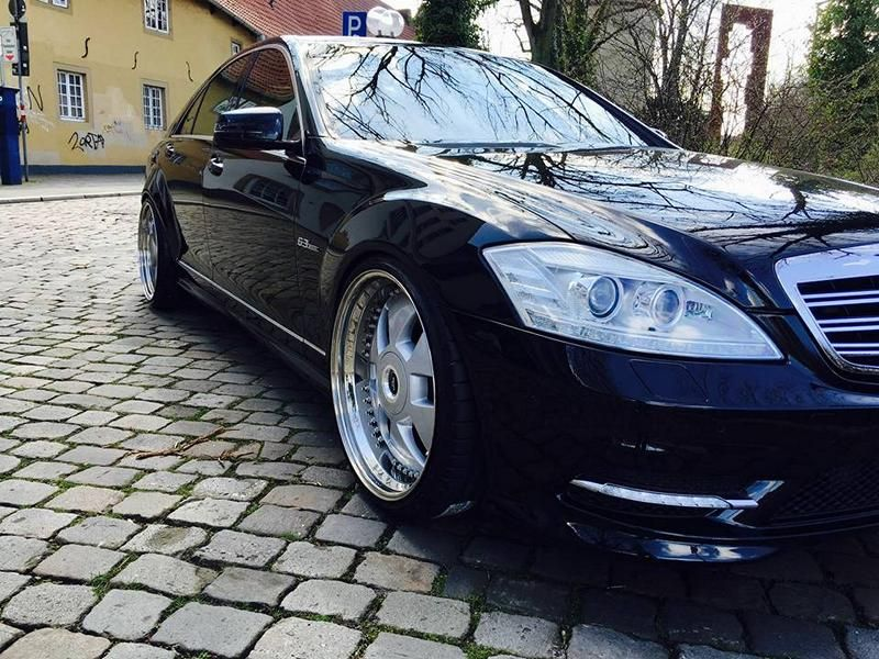 PP Exclusive Mercedes Benz W221 S Klasse 21 Zoll Tuning 4 PP Exclusive   Mercedes Benz W221 S Klasse auf 21 Zoll