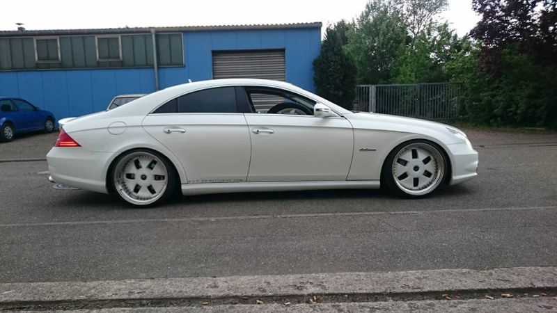 PP Exclusive Mercedes CLS 500 20 Zoll Crownjewel Tuning 1 PP Exclusive Mercedes CLS 500 auf 20 Zoll Crownjewel Alu's
