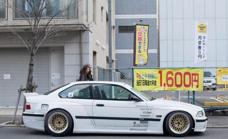 Pandem Rocket Bunny BMW E36 Widebody Enkei Tuning 7