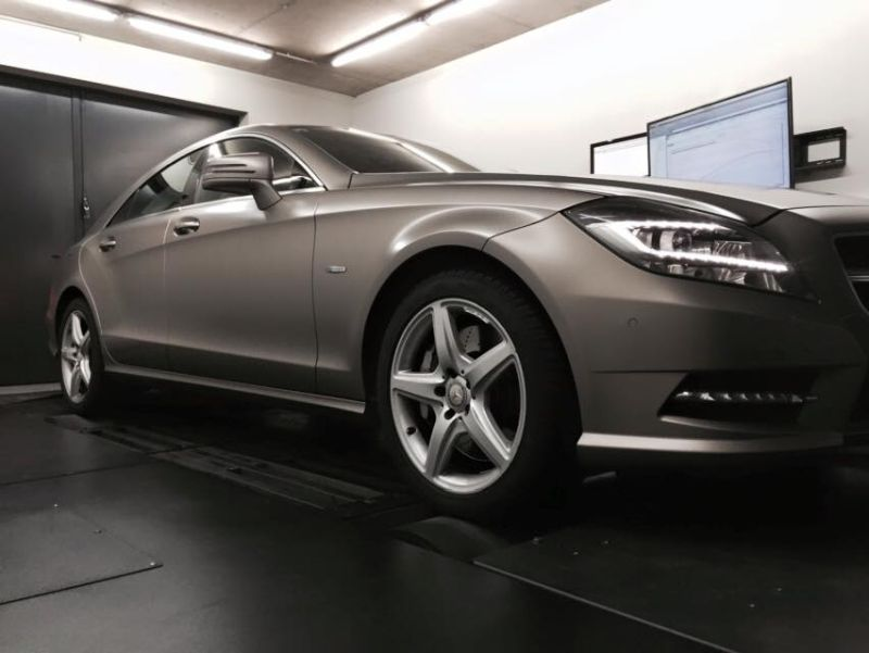Pogea Racing Mercedes CLS500 W218 Chiptuning 507PS 800NM 1 Pogea Racing Mercedes CLS500 W218 mit 507PS & 800NM