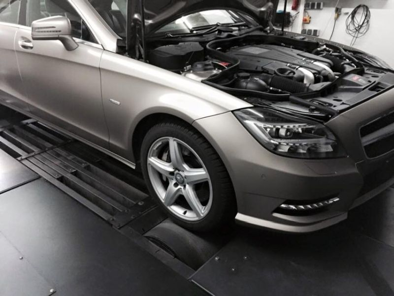 Pogea Racing Mercedes CLS500 W218 Chiptuning 507PS 800NM 3 Pogea Racing Mercedes CLS500 W218 mit 507PS & 800NM