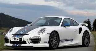 Porsche 911 Turbo S HR Sportfedern Tuning 1 1 e1460175081389 310x165 370PS   VW Golf VII GTI Clubsport S von H&R am Wörthersee