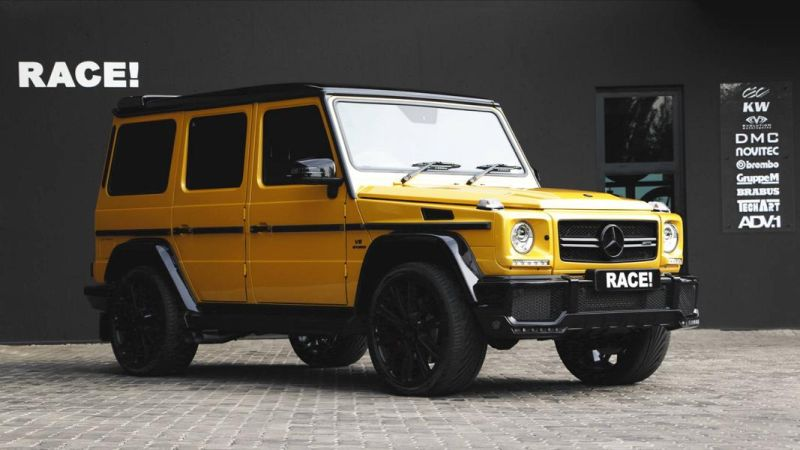RACE South Africa Tuning Mercedes Benz G63 AMG Tuning 1 Extrem   RACE! South Africa Tuning Mercedes Benz G63 AMG