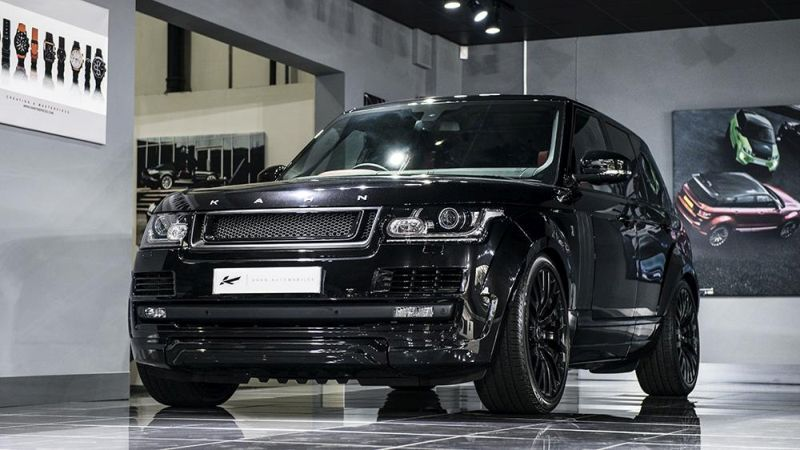Range Rover Vogue RS Edition by Kahn Design Tuning 14