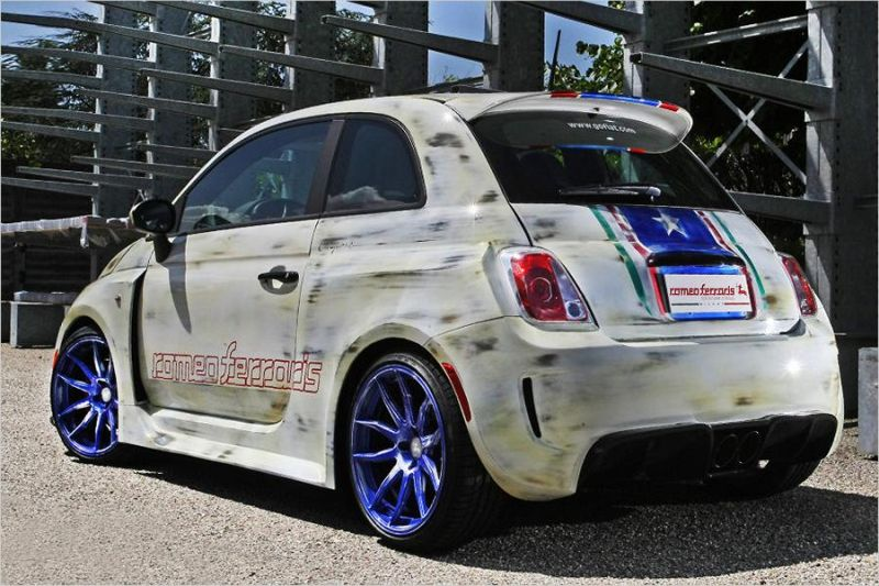 Romeos Ferraris Bilstein Fiat 500 210PS Tuningworld 2 Romeos Ferraris & Bilstein Fiat 500 mit 210PS zur Tuningworld