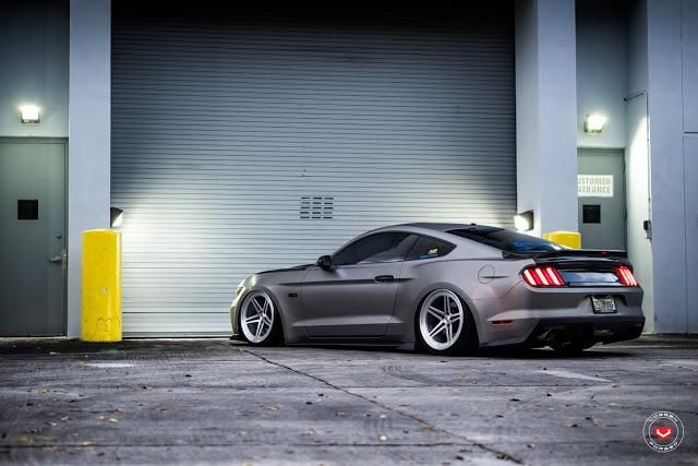 Roush Ford Mustang GT Vossen Forged LC-102 Wheels Tuning (15)