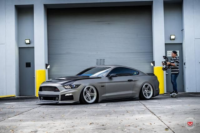 Roush Ford Mustang GT Vossen Forged LC-102 Wheels Tuning (3)