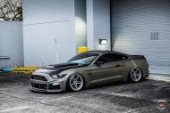Roush Ford Mustang GT Vossen Forged LC 102 Wheels Tuning 9 190x127 TOP   Ford Mustang auf 20 Zoll Vossen Wheels LC 102 Alu's