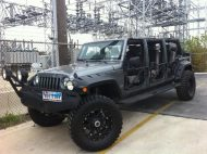 Stretchlimousine Jeep Wrangler Langversion Forgiato Tuning 3 190x142 Fotostory   Irrer 6 Türen Jeep Wrangler als Langversion