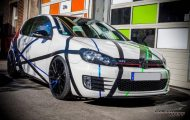 Stripes Folierung VW Golf MK6 GTi Check Matt Dortmund Tuning 6 190x120 Stripes Folierung am VW Golf 6 by Check Matt Dortmund