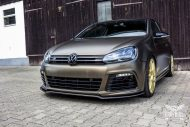 Tuning Bond Gold Matt Metallic VW Golf 6R SchwabenFolia 11 190x127 Bond Gold Matt Metallic VW Golf 6R by SchwabenFolia