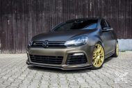 Tuning Bond Gold Matt Metallic VW Golf 6R SchwabenFolia 4 190x127 Bond Gold Matt Metallic VW Golf 6R by SchwabenFolia