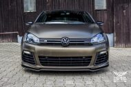 Tuning Bond Gold Matt Metallic VW Golf 6R SchwabenFolia 9 190x127 Bond Gold Matt Metallic VW Golf 6R by SchwabenFolia