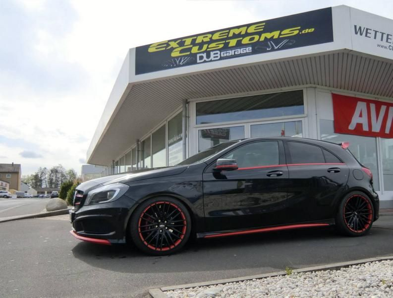 Tuning Extreme Customs Germany Mercedes Benz A Klasse 1 Sportlich   Extreme Customs Germany Mercedes Benz A Klasse