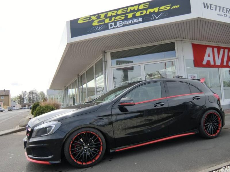 Tuning Extreme Customs Germany Mercedes Benz A Klasse 2 Sportlich   Extreme Customs Germany Mercedes Benz A Klasse