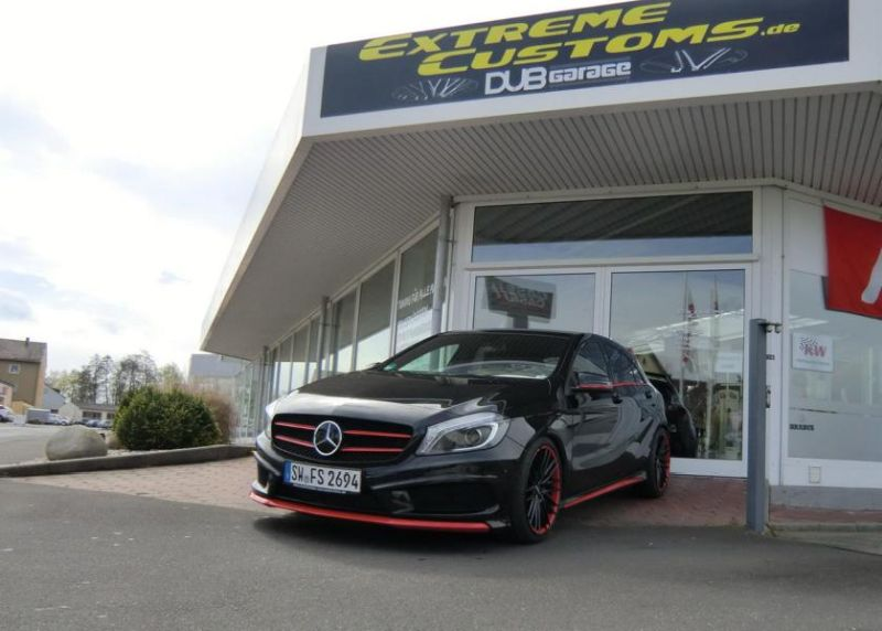 Tuning Extreme Customs Germany Mercedes Benz A Klasse 3 Sportlich   Extreme Customs Germany Mercedes Benz A Klasse