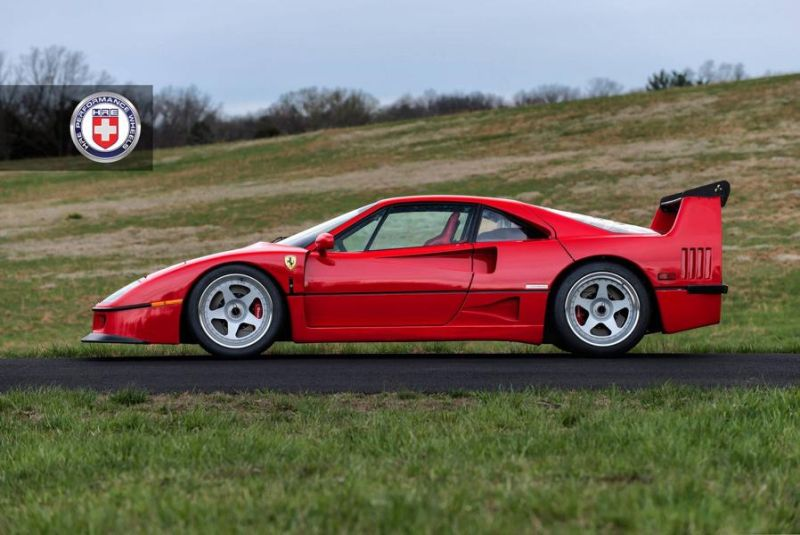 Tuning Ferrari F40 HRE Performance Wheels Classic 305 1 Top   Ferrari F40 auf HRE Performance Wheels Classic 305