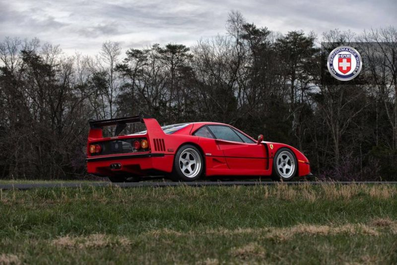 Tuning Ferrari F40 HRE Performance Wheels Classic 305 4 Top   Ferrari F40 auf HRE Performance Wheels Classic 305