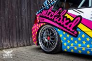 VW Golf 4 GTI Der Pop Art Golf SchwabenFolia MTCHBX DESIGNS Tuning 11 190x127 Crazy   VW Golf 4 GTI Der Pop Art Golf by SchwabenFolia