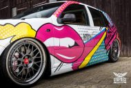 VW Golf 4 GTI Der Pop Art Golf SchwabenFolia MTCHBX DESIGNS Tuning 13 190x127 Crazy   VW Golf 4 GTI Der Pop Art Golf by SchwabenFolia