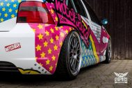 VW Golf 4 GTI Der Pop Art Golf SchwabenFolia MTCHBX DESIGNS Tuning 16 190x127 Crazy   VW Golf 4 GTI Der Pop Art Golf by SchwabenFolia