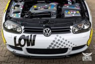 VW Golf 4 GTI Der Pop Art Golf SchwabenFolia MTCHBX DESIGNS Tuning 17 190x127 Crazy   VW Golf 4 GTI Der Pop Art Golf by SchwabenFolia
